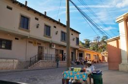 The town of Copan Ruinas