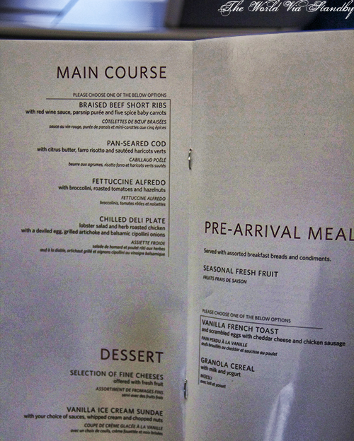 Business Elite Menu