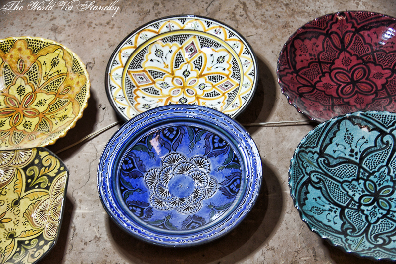 moroccan pottery, Tamegroute, Morocco, Pottery