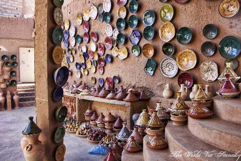Tamegroute, Morocco, Pottery