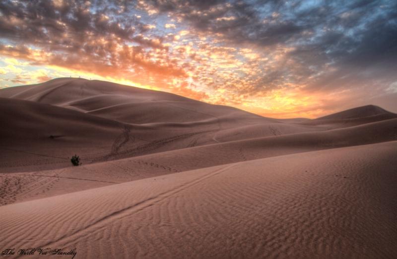 erg chigaga hdr, dunes, sahara, worldviastandby
