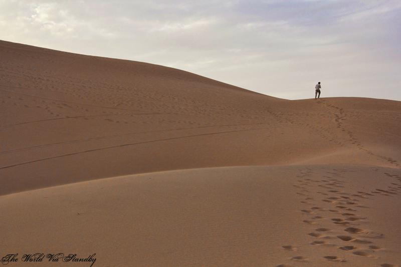 erg chigaga, dunes, sahara, worldviastandby